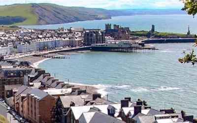 Aberystwyth Wales a Beautiful Beachside City