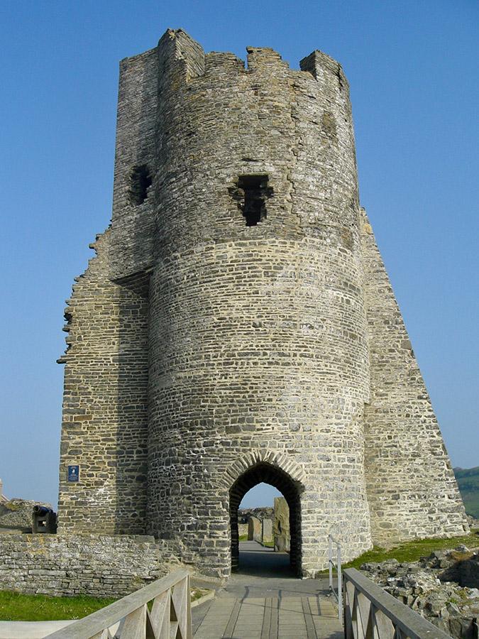 Aberystwyth Castle Ruin