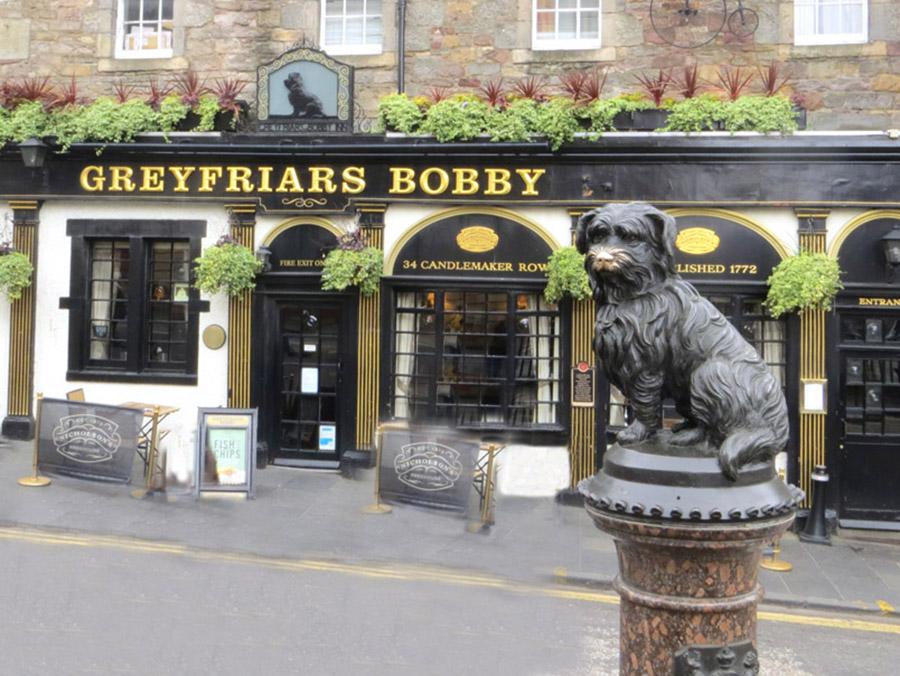 Edinburgh Scotland Bobby Dog Statue