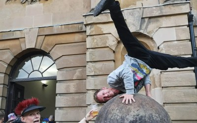 LEO DID A HANDSTAND ON A THING (CIDER SAUNTER 2019)