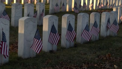 Civil war soldiers buried in Rosehill cemetery