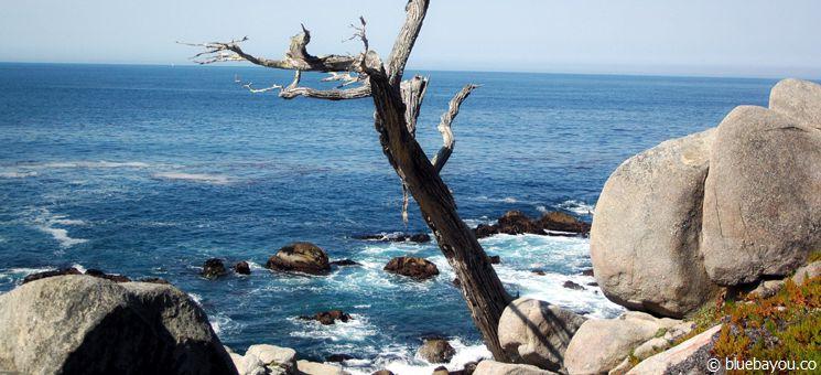 Ausblick auf den pazifischen Ozean vom 17-Miles-Drive bei Monterey.