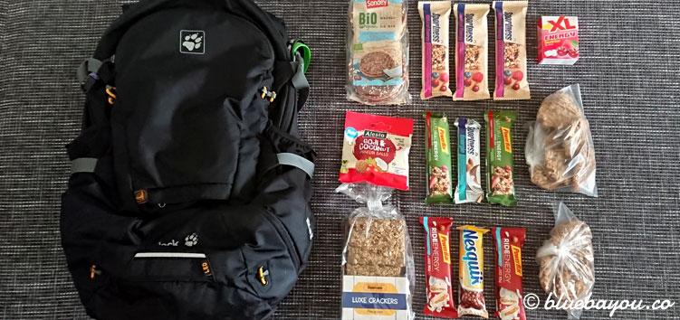 Packliste zum Megamarsch mit 72,36 Kilometern und dem Rucksack von Jack Wolfskin.