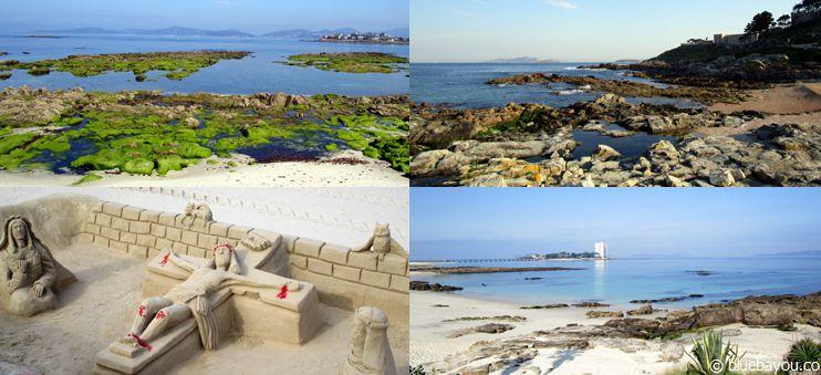 Meer, Gestein, Strand und eine Kreuzigung aus Sand: Der nicht-traditionelle Jakobsweg von Santiago nach Porto.