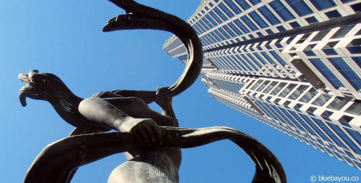 Der SunTrust Plaza, ein 60-stöckiges Gebäude der SunTrust Bank.