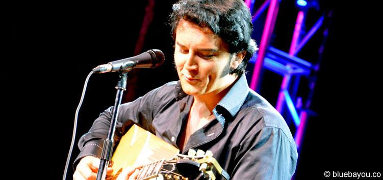 Ben Portsmouth während seines Akustikkonzerts im New Daisy Theatre.