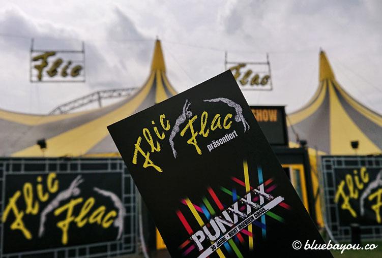 PUNXXX: die neue Show des Circus Flic Flac.