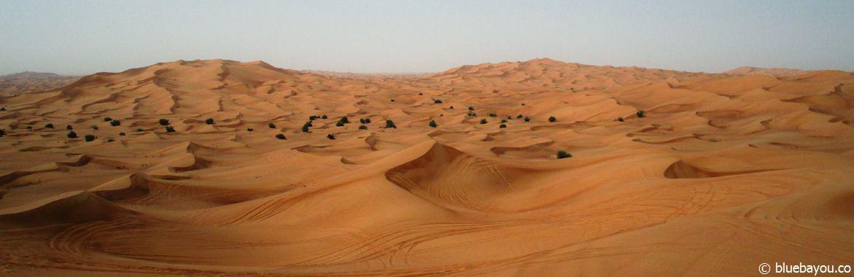 Wüste bei Dubai.
