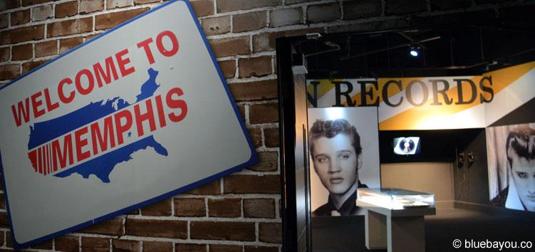 Elvis at the O2: Welcome to Memphis. Die Themenräume führen durch Elvis Presleys Leben.