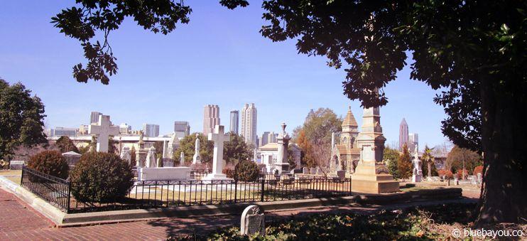 Der Oakland Cemetery in Atlanta: Friedhöfe suche ich sehr gerne auf, um etwas zur Ruhe zu kommen.