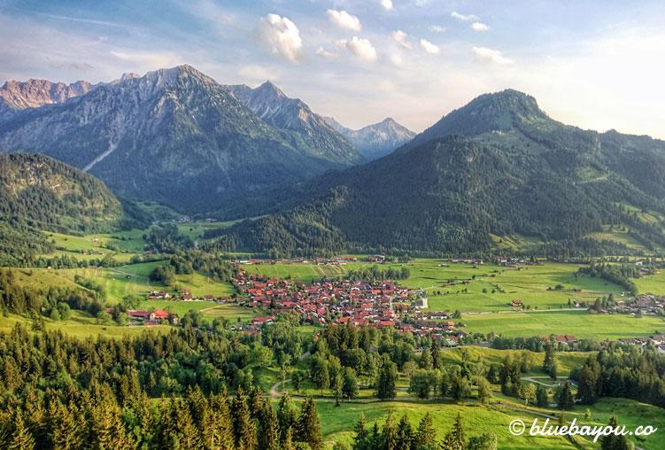 Fotoparade: Entlang der deutschen Alpenstraße war dieser Ausblick für mich einer der schönsten.