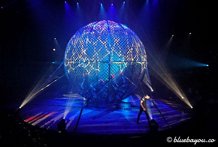 Globe of Speed: eine der bekanntesten Attraktionen des Circus Flic Flac.