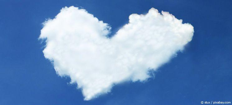 Ein Herz aus Wolken: Ein Dankeschön an alle Menschen, die auf meinen Reisen immer so gut zu mir sind!