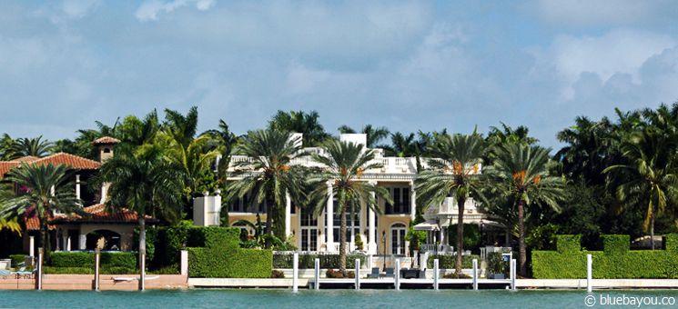 Zurück in Miami können noch einige Prunkvillen betrachtet werden.