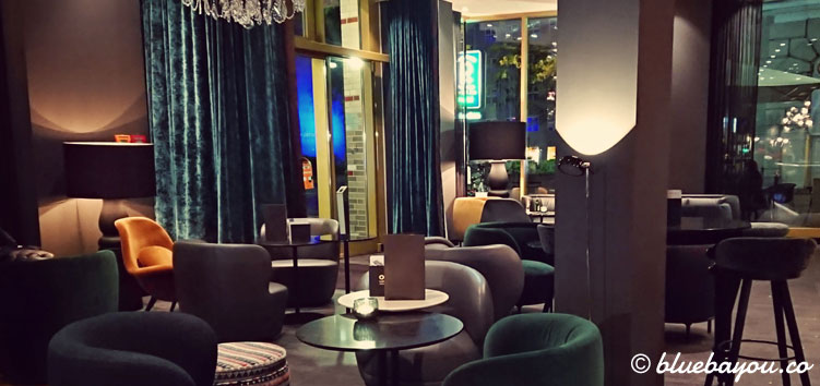 Die One Lounge des Motel One Berlin-Ku'Damm.