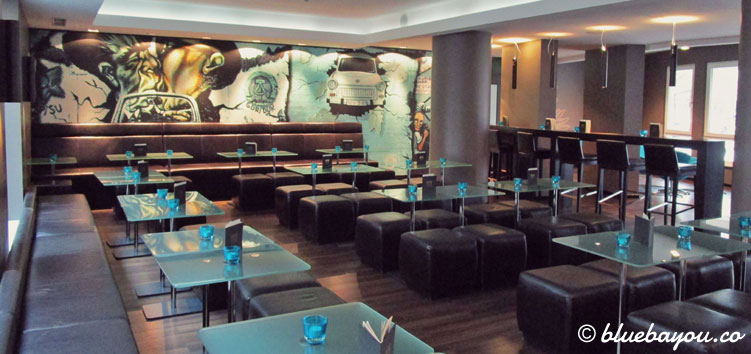 Die One Lounge des Motel One Berlin-Mitte.