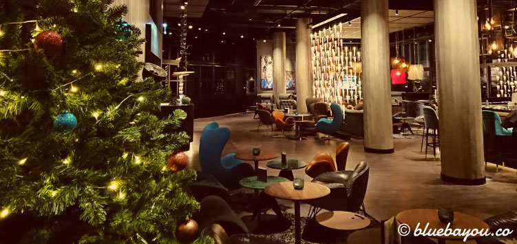 Die One Lounge des Motel One Berlin-Spittelmarkt nach dem Redesign Ende 2018.