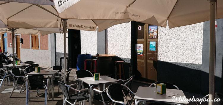 Die Pizzeria C'Masita II in El Pagador auf Gran Canaria von außen.