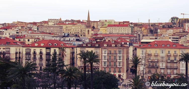 Blick auf Santander.