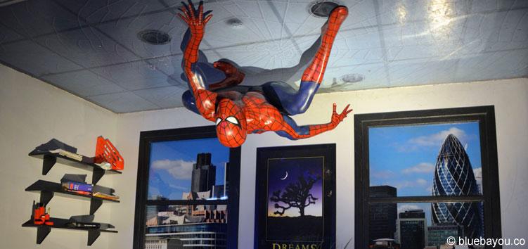 Spiderman bei Madame Tussauds in London.