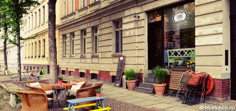 TONIS handmade organic icecream in der Könneritzstraße in Leipzig-Schleußig.