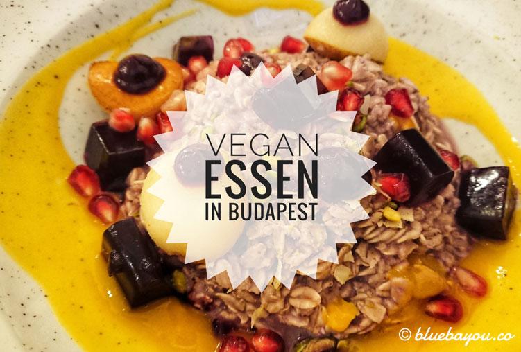 Vegan und gesund essen im Szimply in Budapest.