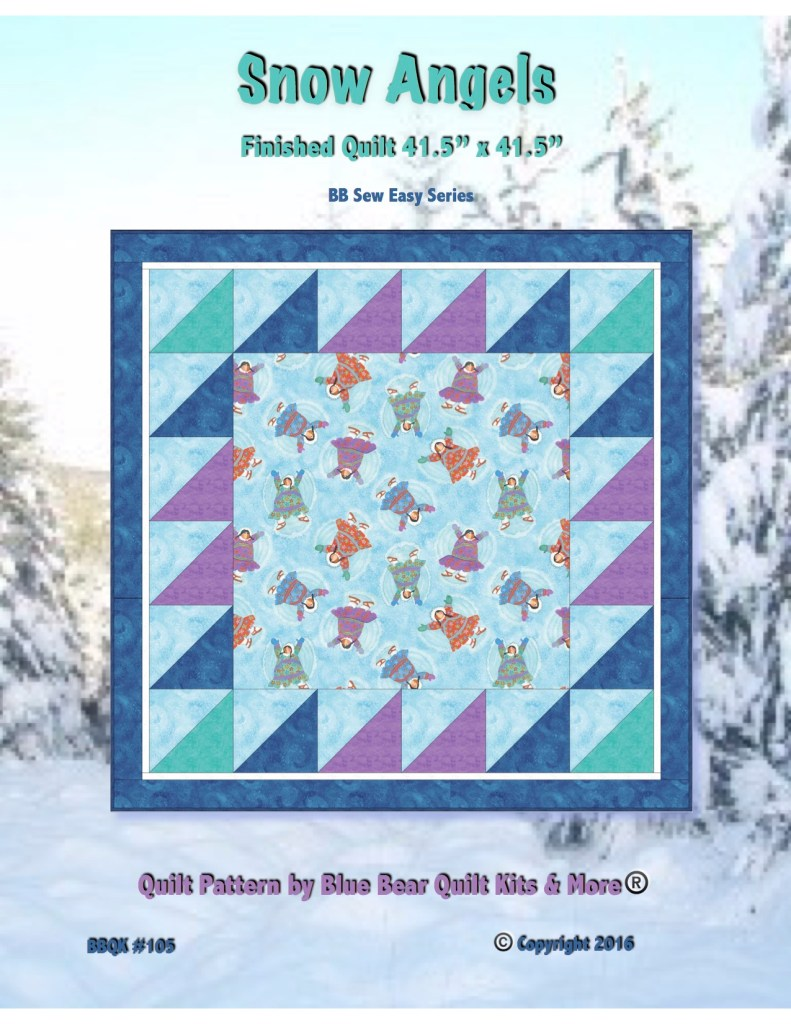 Snow Angels Quilt Pattern