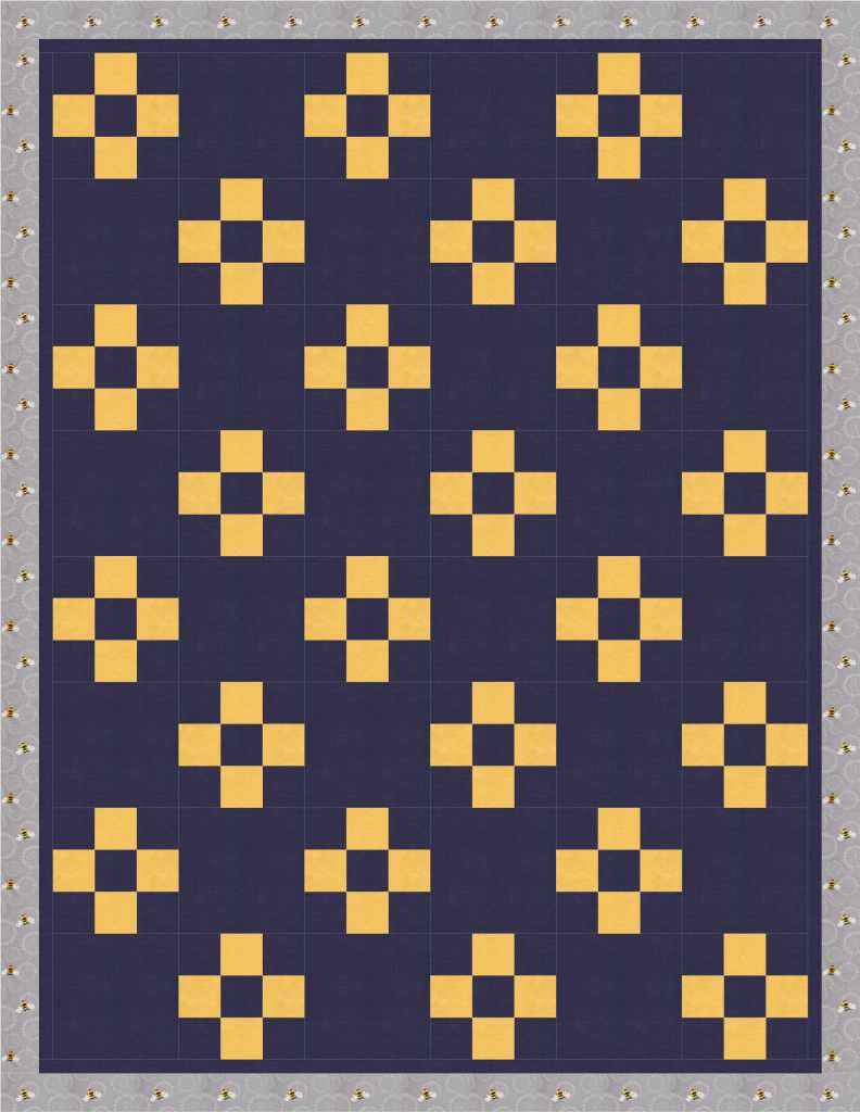 Variation Nine Patch Quilt