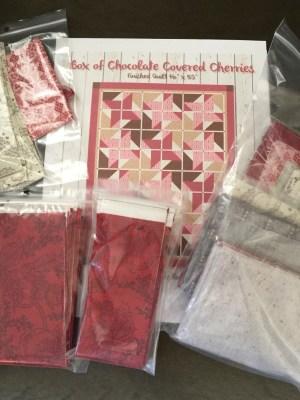 Box of Chocolate Covered Cherries Quilt Kit
