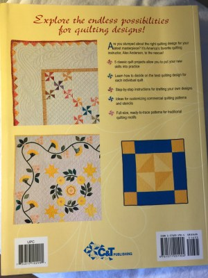 Beautifully Quilted Book -back cover
