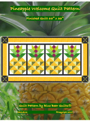 Pineapple Welcome Quilt