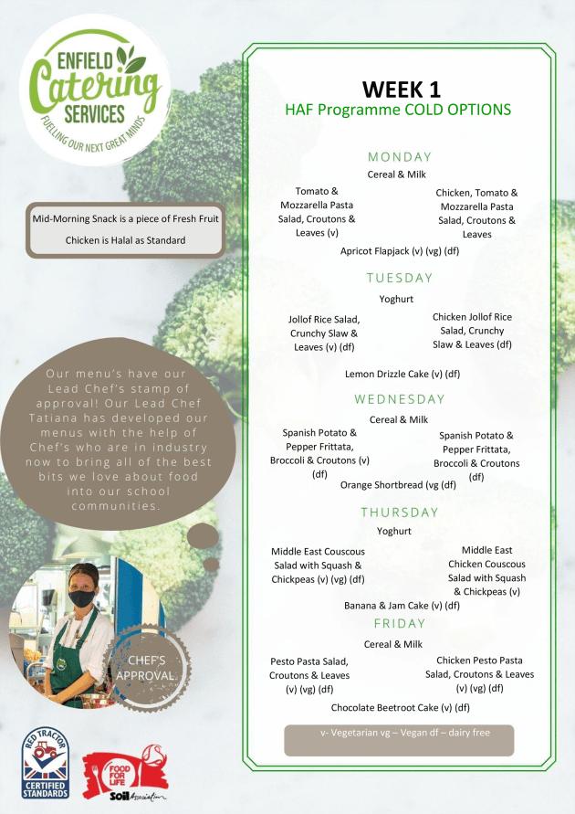 week 3 haf menu