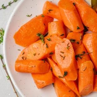 carrots steam