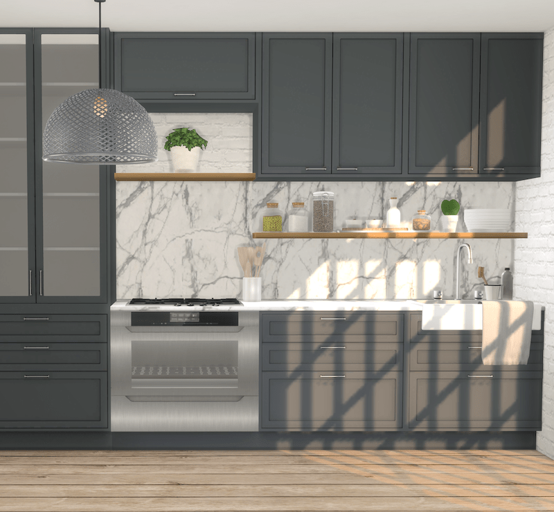 ikea kitchen counters outdoor with green egg backsplash recolours – part 2, minc's c-series and ...