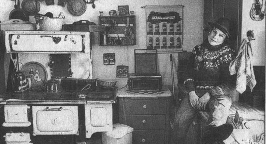 25 years ago, the big monster in the kitchen at Goldcreek Farm