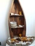 canoe full of natural potpourri