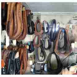 Collars in the harness shop