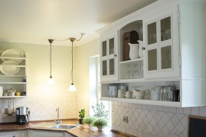 easy home upgrades for under $100 - kitchen cabinets