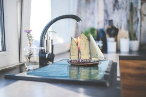 Update your kitchen on a tight budget by replacing your faucets