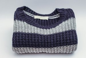 Sweater - use it for wrapping as one of the eco-friendly ways to use packing supplies