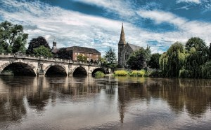 Shrewsbury movers might not take you to Shrewsbury, England, but they are still great!