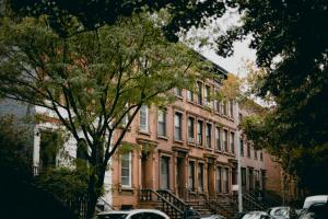A street you may be considering for living in a brownstone in Jersey City.