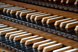 Organ keyboards