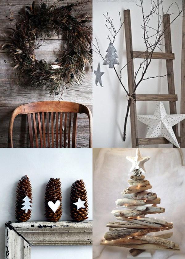 Rustic Modern Christmas Decor