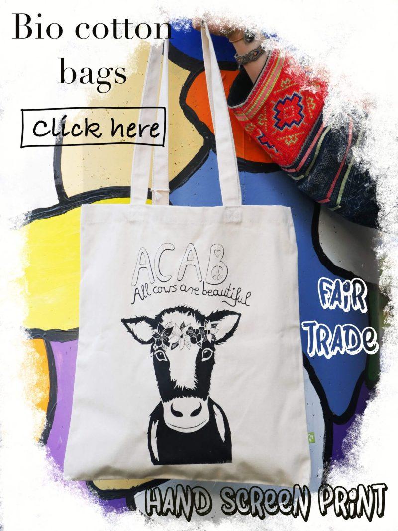 bio cotton fair trade bags hand made