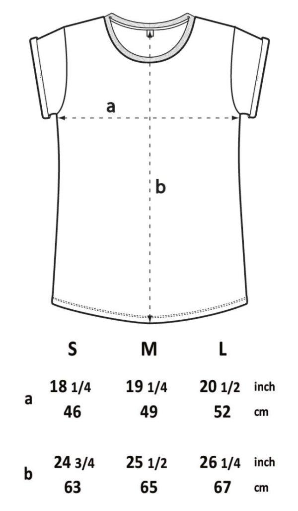 Measurements t-shirt