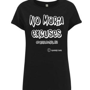 Black no Moria excuses statement t-shirt