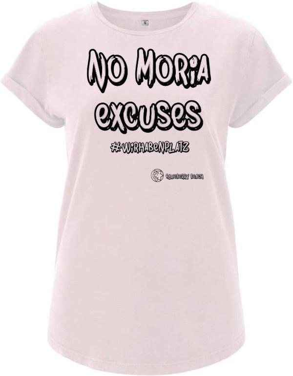 No Moria excuses light pink