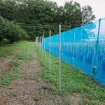 電気柵の設置工事
