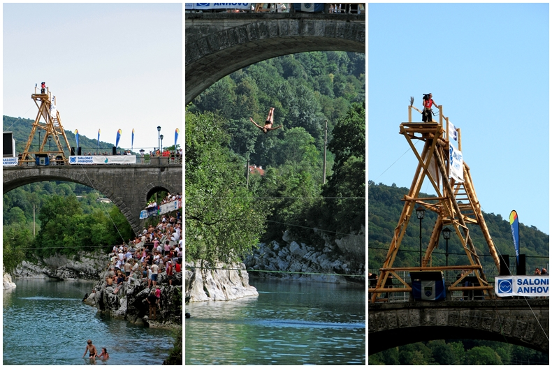 Kanal jump collage